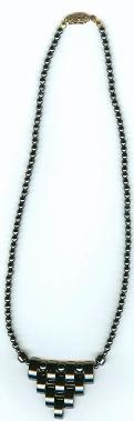 hematite necklace (length:18
